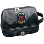6084 Aerona Leatherette Wash Bag
